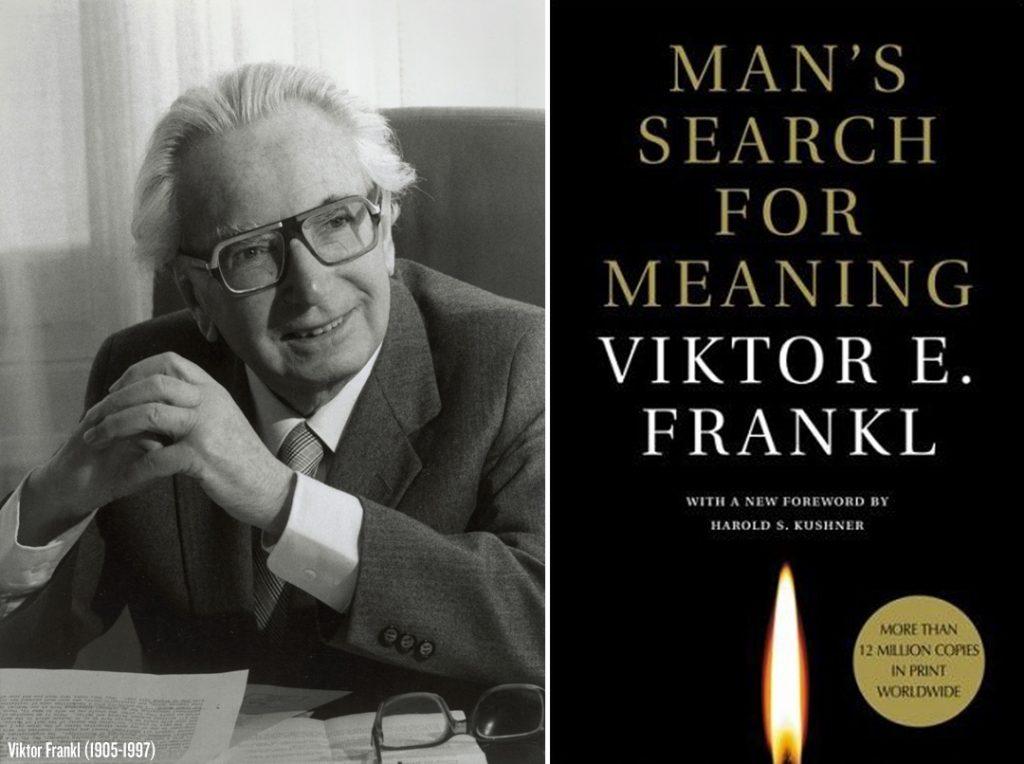 Viktor Frankl, österr. Psychologe und Arzt. Photographie. Um 1975