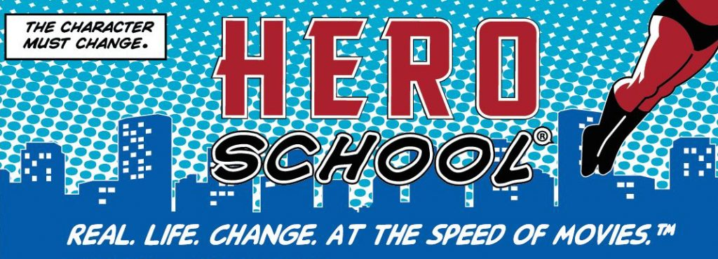 Hero Schoo® Banner and Tagline slim