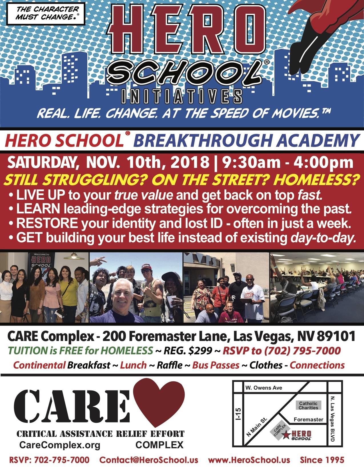 Hero School Breakthrough Academy